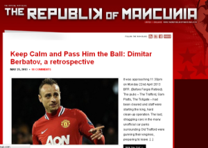 Rep of Manc Berbatov