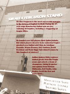 Sir Alex Ferguson Stand cover image and blurb