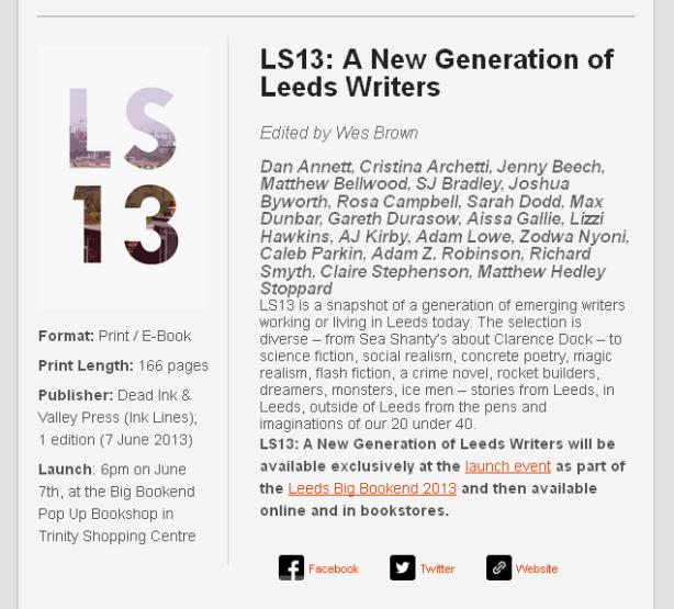 LS13 Blog