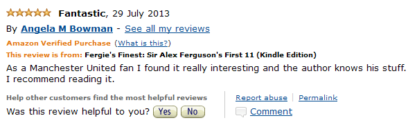 Amazon Fergies Finest