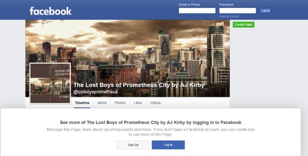 LostBoys Facebook