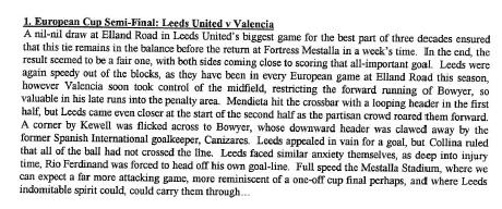 Leeds Story