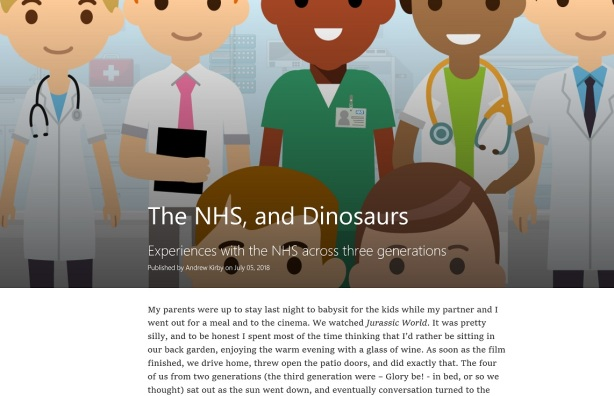 NHS D Blog